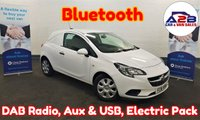 2016 VAUXHALL CORSA 1.3 CDTI  in White with Bluetooth, DAB Radio, Full Service History (4 Stamps), Electric Windows & Mirrors and more £4280.00