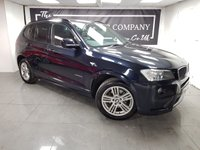 USED 2012 61 BMW X3 2.0 XDRIVE20D M SPORT 5d + HISTORY + LEATHER + 2KEYS