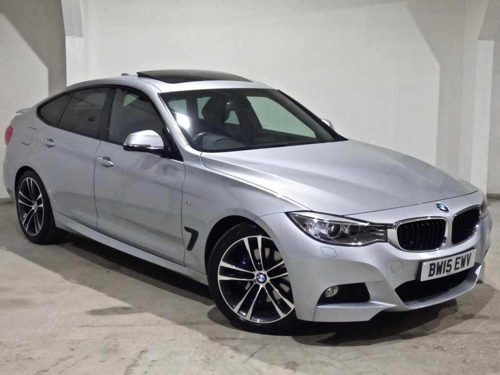 USED 2015 15 BMW 3 SERIES 2.0 320D M SPORT GRAN TURISMO 5d 181 BHP