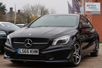 USED 2015 65 MERCEDES-BENZ CLA 2.1 CLA 200 D AMG LINE 4d 134 BHP AUTO FULL MERCEDES SERVICE HISTORY + FINANCE AVAILABLE