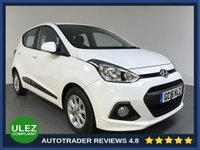 USED 2016 16 HYUNDAI I10 1.2 PREMIUM 5d 86 BHP FULL HYUNDAI HISTORY - 1 OWNER - ULEZ COMPLIANT - AIR CON - CD PLAYER - AUX / USB