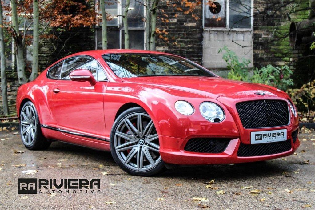 USED 2013 13 BENTLEY CONTINENTAL 4.0 GT V8 2d 500 BHP