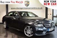 """USED 2014 14 MERCEDES-BENZ E CLASS 2.1 E250 CDI AMG SPORT 4DR AUTO 202 BHP full mercedes service history Finished in stunning tenorite metsllic grey styled witth 19"""" alloys. Upon entering the drivers door you are presented with half leather interior, full mercedes service history, satellite navigation, bluetooth, heated seats, cruise control, active park assist, DAB radio, AMG styling package"""