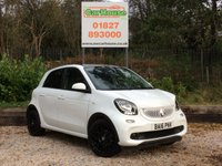 USED 2016 16 SMART FORFOUR 0.9 EDITION WHITE T 5dr £0 Road Tax