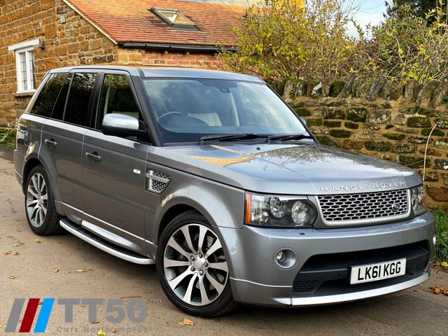2011 61 LAND ROVER RANGE ROVER SPORT 5.0 V8 AUTOBIOGRAPHY SPORT 5d 510 BHP
