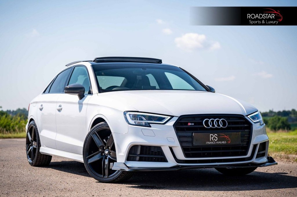 USED 2017 67 AUDI A3 2.0 TFSI Black Edition S Tronic quattro (s/s) 4dr PAN ROOF+SUPERSPORT SEAT+NAV