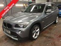 2010 BMW X1 2.0 XDRIVE20D SE 5dr (177 BHP)..LEATHER SEATS £5990.00