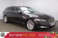 USED 2015 64 JAGUAR XF 2.2 D PREMIUM LUXURY SPORTBRAKE 5DR 200 BHP FULL LEATHER SAT NAV POWER TAILGATE FULL JAGUAR SERVICE HISTORY + SATELLITE NAVIGATION + HEATED LEATHER SEATS + REVERSE CAMERA + SUNROOF + PARKING SENSOR + BLUETOOTH + CRUISE CONTROL + CLIMATE CONTROL + MULTI FUNCTION WHEEL + DAB RADIO + XENON HEADLIGHTS + ELECTRIC/MEMORY SEATS + PRIVACY GLASS + ELECTRIC WINDOWS + ELECTRIC MIRRORS + 18 INCH ALLOY WHEELS