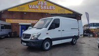 USED 2016 16 MERCEDES-BENZ SPRINTER 310 CDI SWB LOW TOP 2016/16 REG 1 OWNER DIRECT BENZS (((( LOTS MORE VANS IN STOCK OVER 100 ON SITE )))
