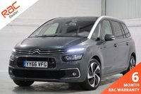 USED 2016 66 CITROEN C4 GRAND PICASSO 2.0 BLUEHDI FLAIR S/S 5d 148 BHP 7 SEATS, PANORAMIC ROOF, NAVIGATION + REVERSING CAMERA