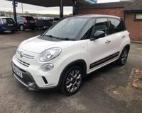 USED 2013 63 FIAT 500L 1.2 MULTIJET TREKKING 5d 85 BHP £30 ROAD TAX, 84K MILES