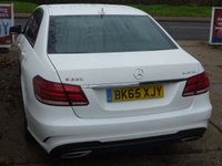USED 2015 65 MERCEDES-BENZ E-CLASS 2.1 E220 BLUETEC AMG NIGHT EDITION 4d 174 BHP FULL MERCEDES SERVICE HISTORY