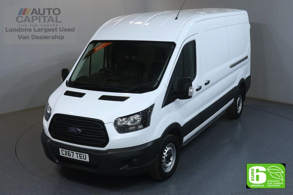USED 2017 67 FORD TRANSIT 2.0 350 RWD L3 H2 129 BHP EURO 6 ENGINE ONE OWNER FROM NEW