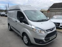 USED 2015 65 FORD TRANSIT CUSTOM 2.2 310 TREND LR P/V 99 BHP * HIGH ROOF *