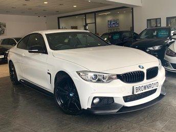 2014 BMW 4 SERIES 2.0 428I M SPORT 2d 242 BHP £15990.00