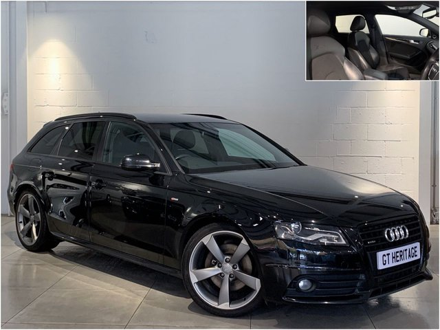 2011 11 AUDI A4 2.0 AVANT QUATTRO [HUGE SPEC][BLACK EDITION]