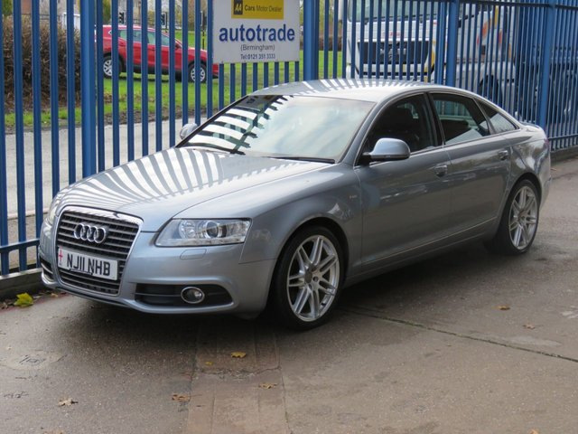 USED 2011 11 AUDI A6 2.0 TDI S LINE SPECIAL EDITION 4d 168 BHP Full Leather Nav