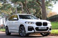 USED 2018 68 BMW X3 3.0 XDRIVE30D M SPORT 5d 261 BHP