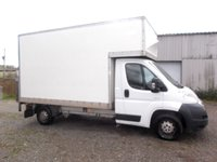 2009 CITROEN RELAY 2009 2.2 35 L3 HDI LWB 120 BHP Luton with Tail-lift, NO VAT TO PAY £4999.00