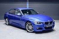 2012 BMW 3 SERIES 320D M SPORT ** ESTORIL BLUE, AUTO, £30 TAX  ** £13495.00