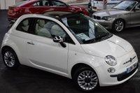 2014 FIAT 500 1.2 C LOUNGE 3d 69 BHP £6295.00