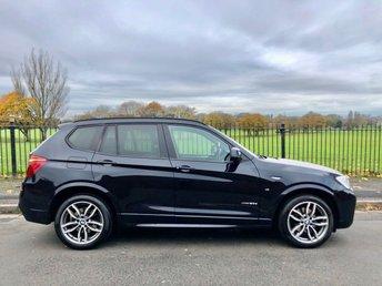 2015 BMW X3 2.0 XDRIVE20D M SPORT 5d 188 BHP £16995.00