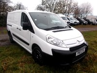 2010 CITROEN DISPATCH 2011 2.0 LX 1200 L2H1 LWB HDI 120 118 BHP NO VAT TO PAY, Part Exchange to Clear £2750.00