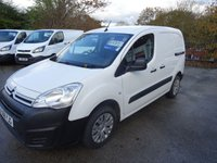 2018 CITROEN BERLINGO 1.6 850 ENTERPRISE L1 BLUEHDI 98 BHP £9495.00
