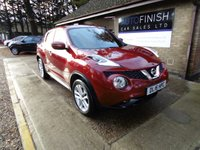 USED 2016 16 NISSAN JUKE 1.5 N-CONNECTA DCI 5d 110 BHP * 1 KEEPER * SAT-NAV * £20 TAX * DAB RADIO * BLUETOOTH * PARKING CAMERA *