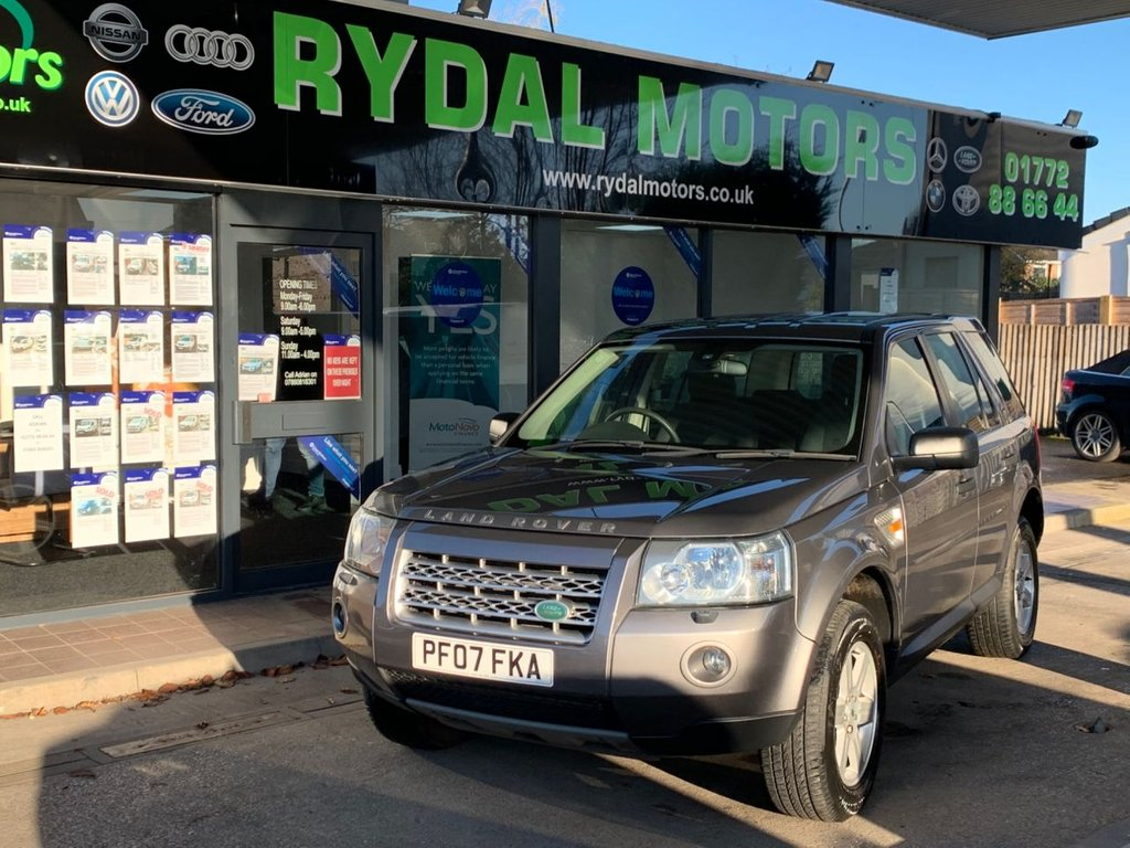 USED 2007 07 LAND ROVER FREELANDER 2.2 TD4 GS 5d 159 BHP A VERY NICE PRIVATELY USED FREELANDER 2, BLUETOOTH PREP, 2 KEYS AND WITH A GOOD SERVICE HISTORY, ALSO HAS A DETACHABLE TOWBAR WITH ELECTRIC PACK.