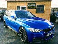 2013 BMW 3 SERIES 2.0 320D M SPORT TOURING 5d 181 BHP £11995.00