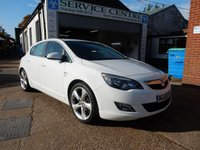 USED 2010 60 VAUXHALL ASTRA 1.4 SRI 5d 138 BHP VXR STYLING PACK,SAT NAV,HEATED SEATS,LEATHER,CRUISE