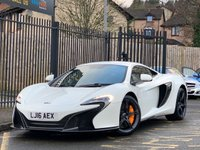 USED 2016 16 MCLAREN 650S 3.8 650S SSG SEMI AUTOMATIC FULL MCLAREN HISTORY, RECENT SERVICE, SPORTS EXHAUST, CARBON INTERIOR, SAT NAV, STEALTH PACK, STEALTH ALLOYS, NOSE LIFT, CARBON ENGINE COVERS, SIDE INTAKES, CERAMIC BRAKES, MASSIVE SPEC PLEASE CALL