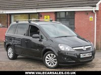 USED 2014 63 VAUXHALL ZAFIRA 1.7 CDTI DESIGN NAV (SAT NAV) 5dr SAT NAV + BLUETOOTH + HEATED SEATS