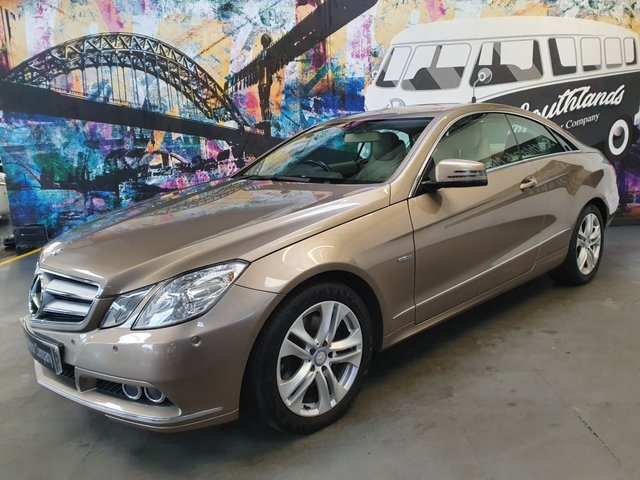 USED 2010 10 MERCEDES-BENZ E-CLASS 3.0 E350 CDI BLUEEFFICIENCY SE 2d 231 BHP