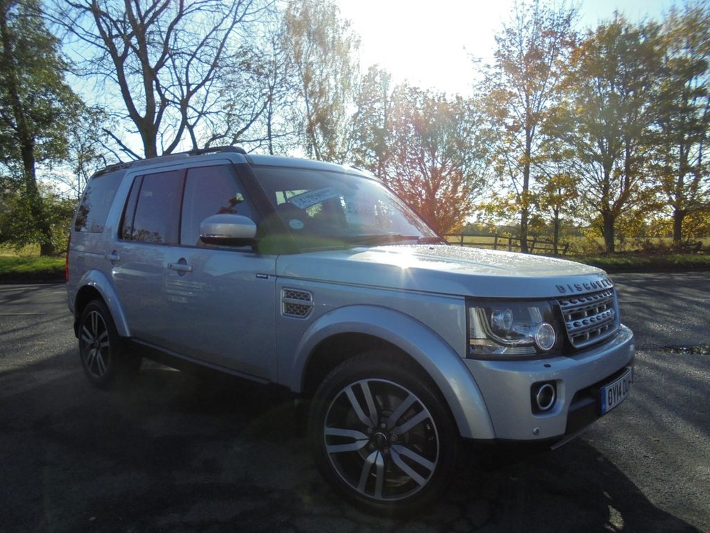USED 2014 14 LAND ROVER DISCOVERY 3.0 SDV6 HSE LUXURY 5d 255 BHP