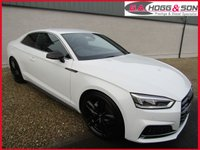 2017 AUDI A5 2.0 TDI S LINE 2dr 190 BHP STUNNING NEW MODEL COUPE £23995.00