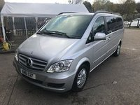 2011 MERCEDES-BENZ VIANO 2.1 AMBIENTE CDI BLUEEFFICENCY  5d 163 BHP £10999.00