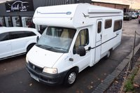 USED 2002 52 LUNAR NEWSTAR NEWSTAR 58 2.0 JTD 84 BHP GREAT VALUE - ABSOLUTELY STUNNING CONDITION - FULL SERVICE HISTORY - HAB CERT DONE 2018 - 4 BERTH - END LOUNGE - SHOWER - TOILET - GAS OVEN/HOB - FRIDGE - AWNING - E/STEP - REVERSE CAMERA