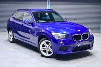 2014 BMW X1 X DRIVE 25D M SPORT **LE MANS BLUE** £12975.00