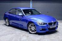 2014 BMW 3 SERIES 318D M SPORT ** ESTORIL BLUE, £30 TAX  ** £12975.00