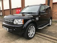 2012 LAND ROVER DISCOVERY 3.0 4 SDV6 HSE 5d 255 BHP SOLD