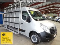 USED 2015 15 VAUXHALL MOVANO 2.3 F3500 L3H2 P/V CDTI 134 BHP GLASS FRAIL / GLASS CARRIER - AA DEALER PROMISE - TRADING STANDARDS APPROVED -