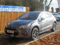 USED 2012 12 CITROEN DS4 2.0 HDI DSPORT 5d 161 BHP FSH, BLUETOOTH, AUX/ USB INPUT