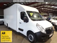 USED 2015 65 VAUXHALL MOVANO 2.3 F3500 L3H1 P/C CDTI 123 BHP LWB LOW LOADER LUTON VAN - AA DEALER WARRANTY PROMISE - TRADING STANDARDS APPROVED -