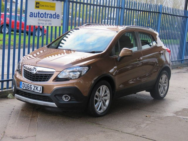 USED 2016 66 VAUXHALL MOKKA 1.4 EXCLUSIV S/S 5dr Cruise Park sensors Alloys Fogs Finance arranged Part exchange available Open 7 days