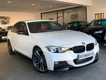 2018 BMW 3 SERIES 2.0 320D XDRIVE M SPORT SHADOW EDITION 4d 188 BHP £20990.00