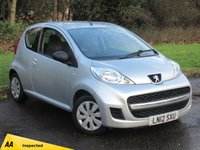 USED 2012 12 PEUGEOT 107 1.0 URBAN LITE 3d 68 BHP VALUE FOR MONEY STARTER CAR