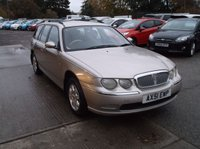 2002 ROVER 75 2.0 CLUB TOURER 5d 148 BHP £1495.00
