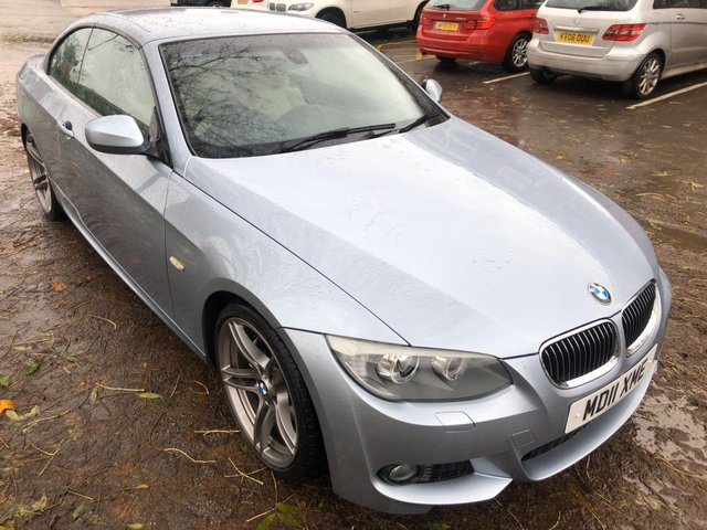 USED 2011 11 BMW 3 SERIES 3.0 325I M SPORT 2d 215 BHP SERVICE HISTORY , FULL LEATHER INTERIOR , SAT NAV , CRUISE CONTROL ,